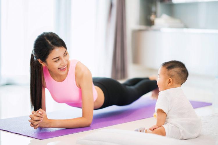 Bữa ăn trước và sau bài tập - Bí quyết giảm cân sau sinh